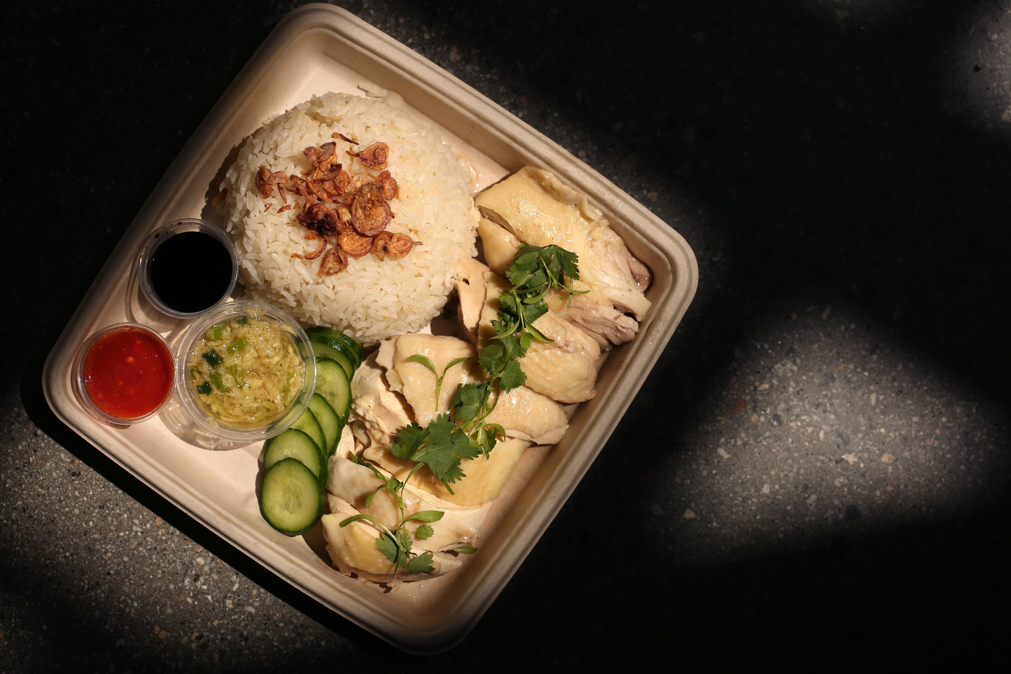 Some Of The Best Hainan Chicken In Town Is In An Arcadia