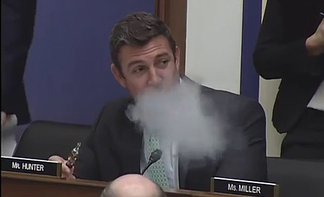 'Vaping Congressman' Introduces Bill To Ease FDA's E-cigarette Restrictions