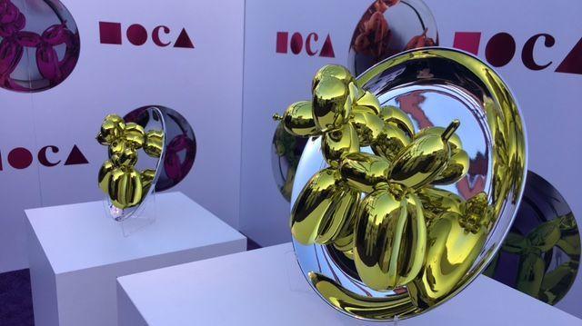 """Jeff Koons' """"Balloon Dog (Yellow)"""""""