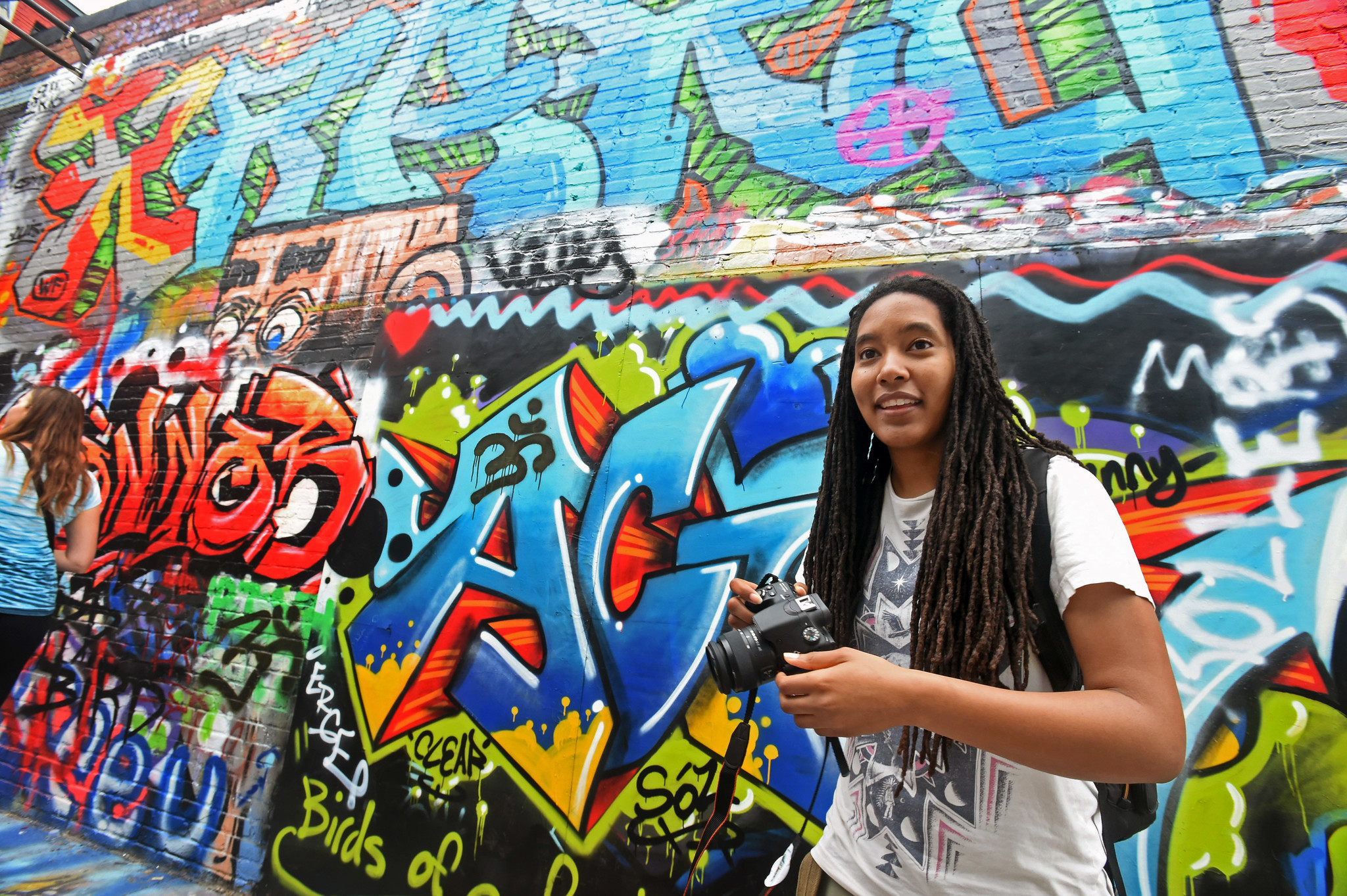 Lovely Things In The Broken Muralist Leads Neighborhood
