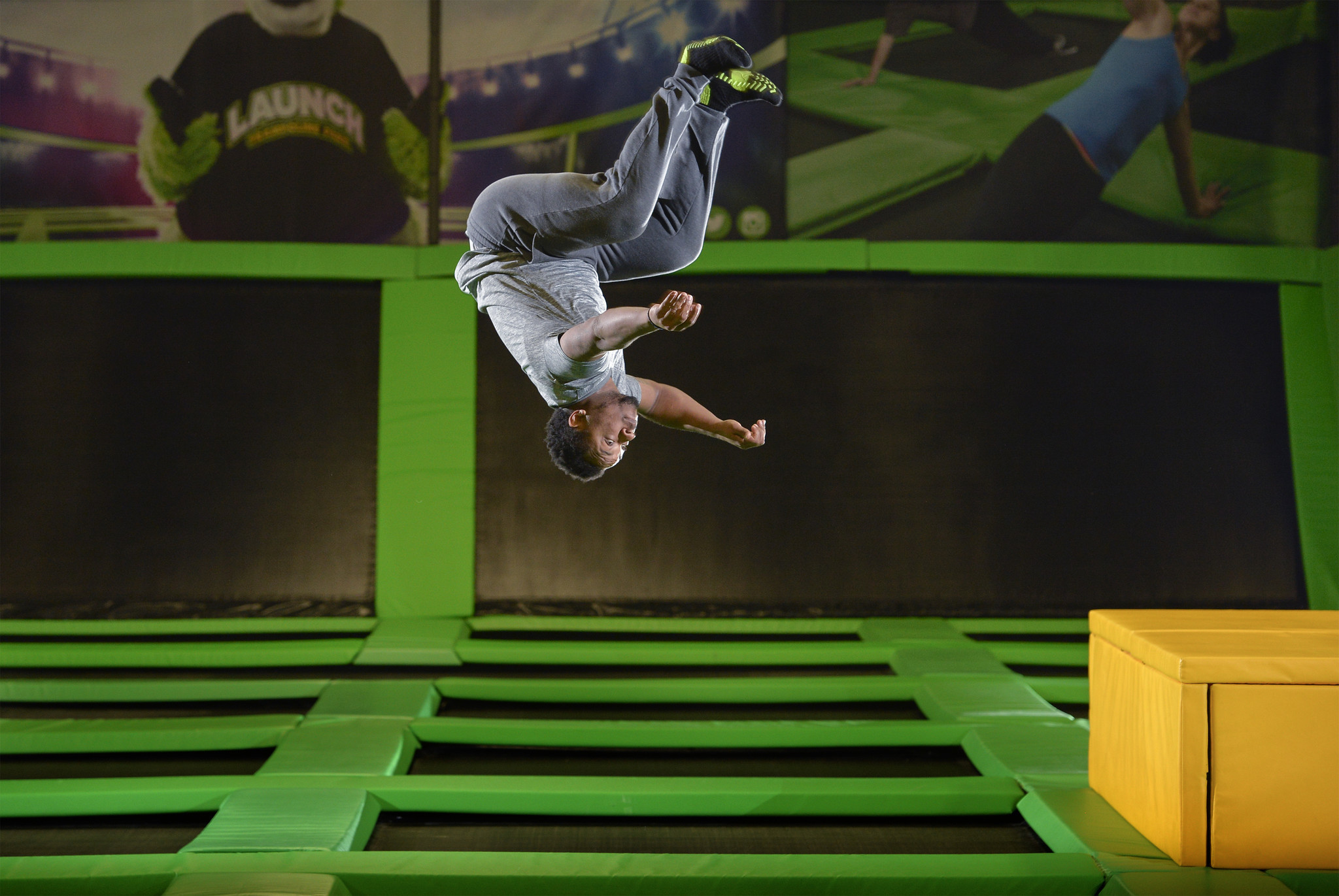 Jumping into shape at Columbia's new Launch Trampoline ...