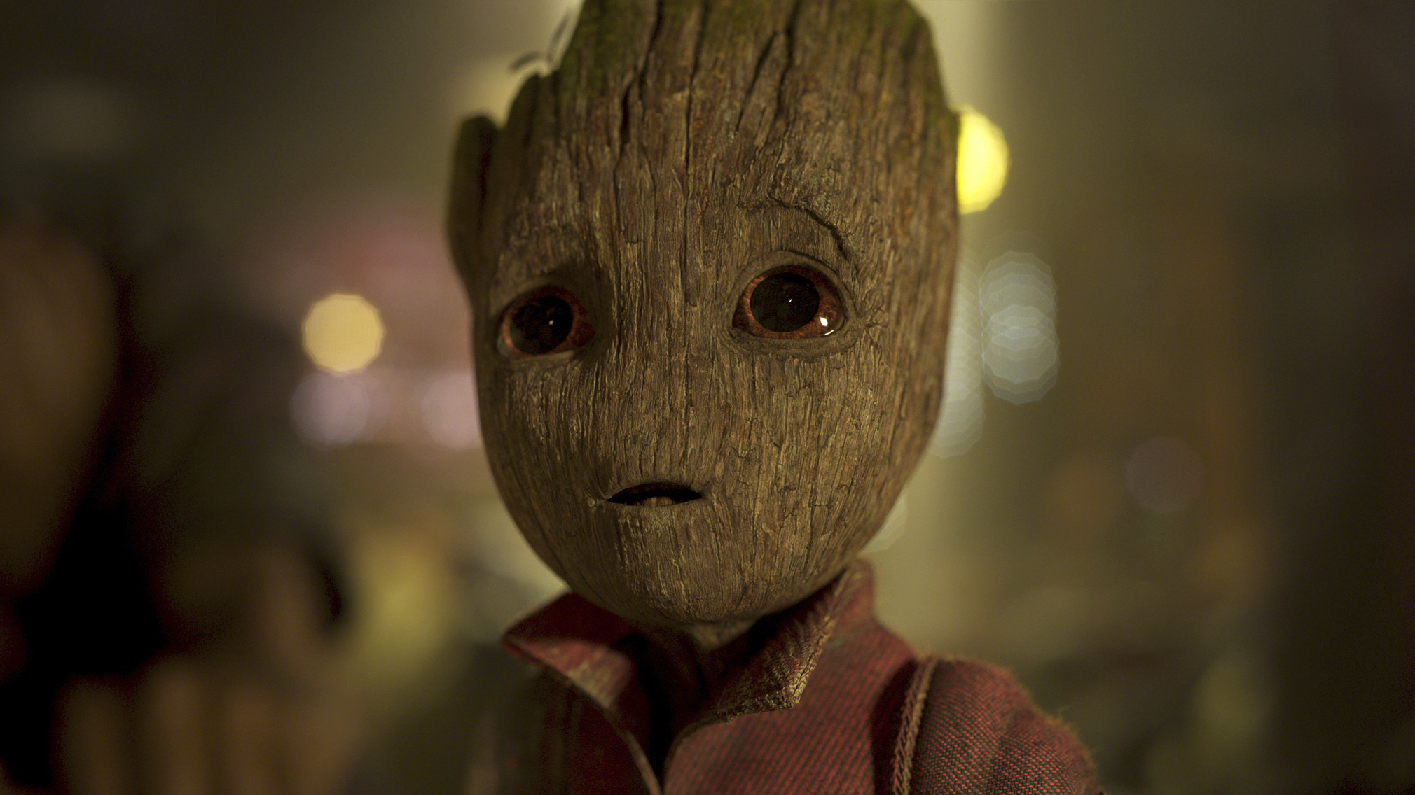 """Baby Groot, voiced by Vin Diesel, in """"Guardians of the Galaxy Vol. 2."""""""