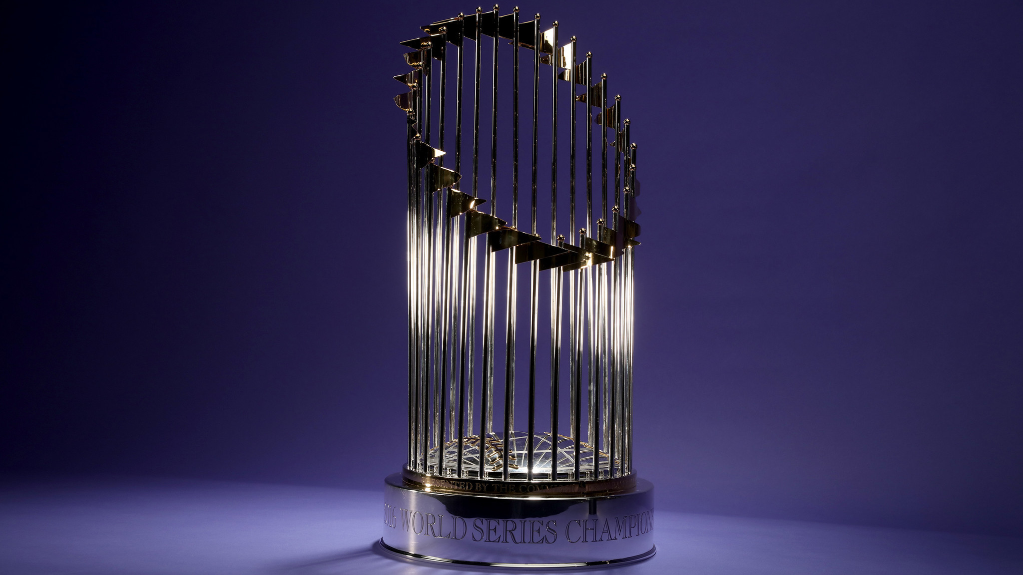 After Handful Of Flags Came Off During Benefit Concert Cubs World Series Trophy Repaired