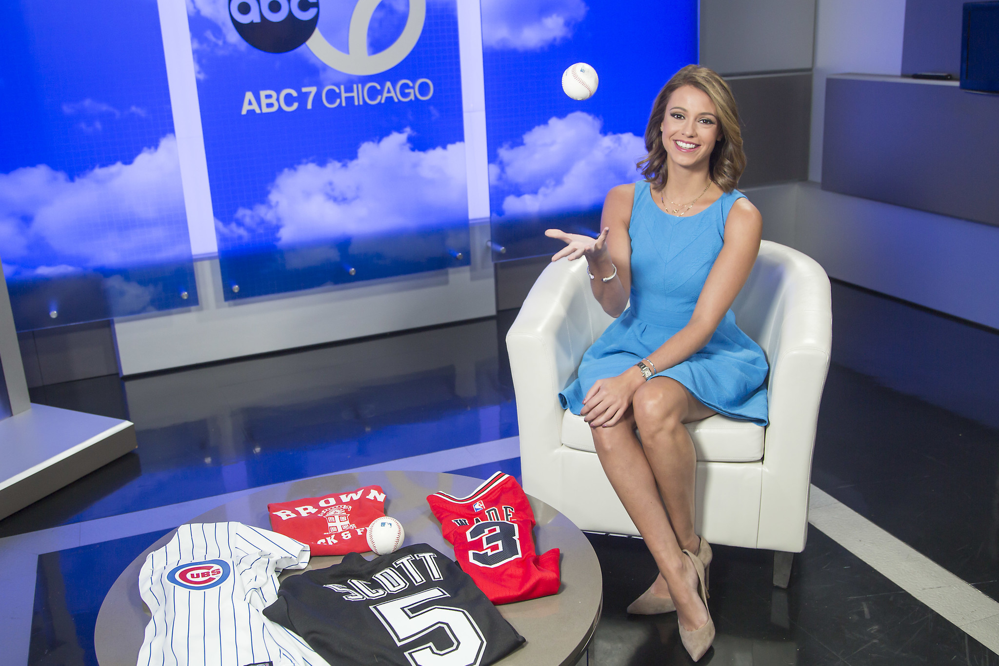 Ch 7 S Cheryl Scott On Sports Weather Cubs And Her