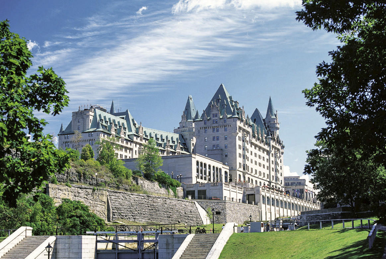 Fairmont Chateau Laurier hotel.