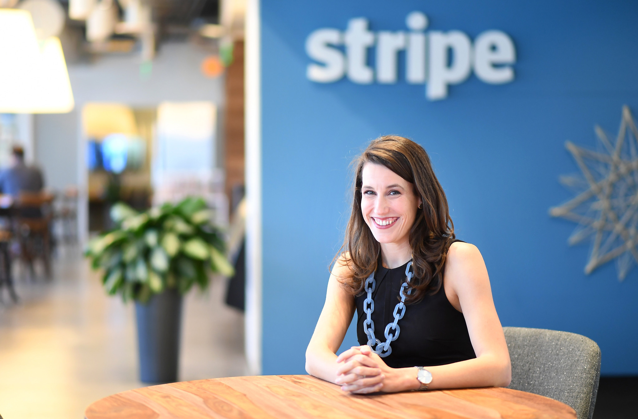 Sarah Heck, former Director of Global Engagement at the White House under Obama, now works for Stripe in San Francisco.