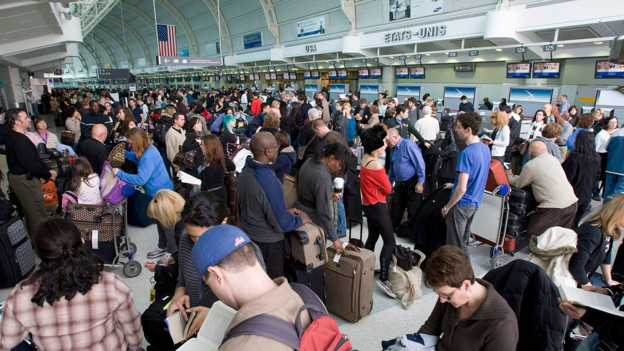 Toronto's airport is the country's busiest, more so this day in 2009 because of a security incident that slowed traffic to a crawl.