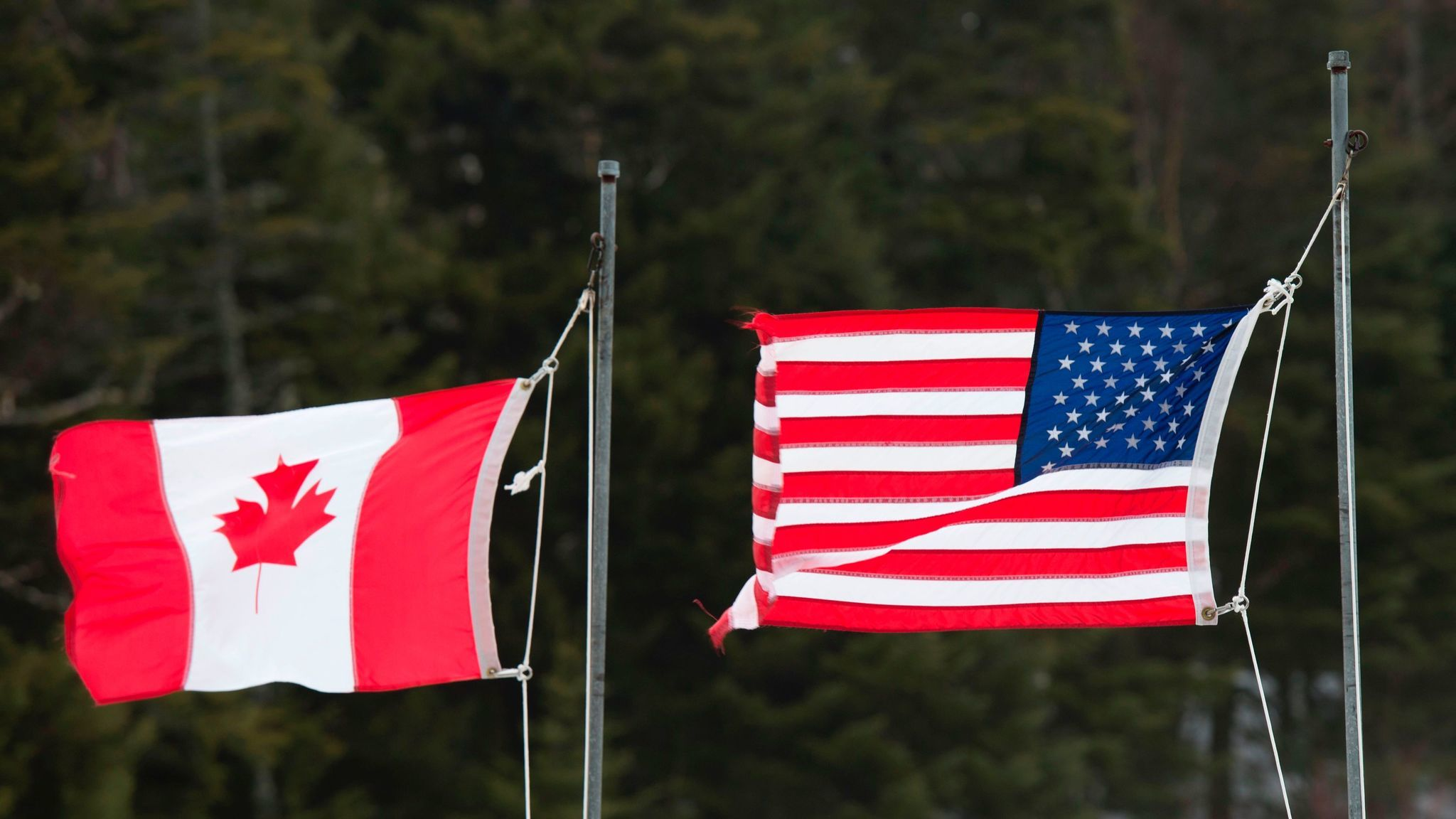 The U.S. and Canada share more than 5,000 miles of land and water boundaries.