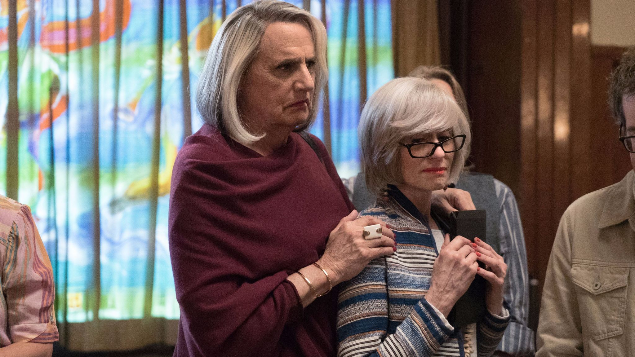 "Jeffrey Tambor and Judith Light in ""Transparent."""