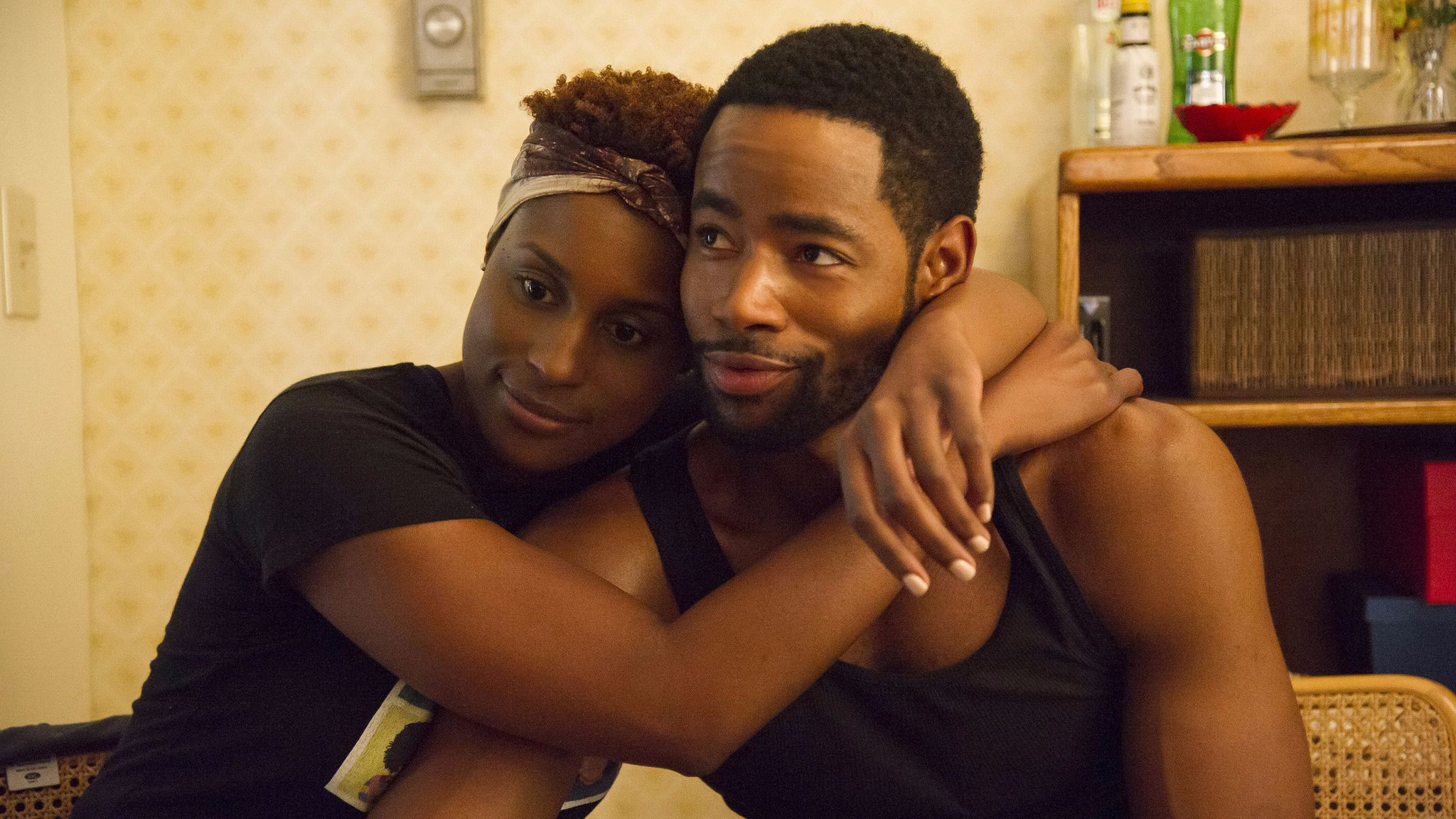 "Issa Rae and  Jay Ellis in ""Insecure."""