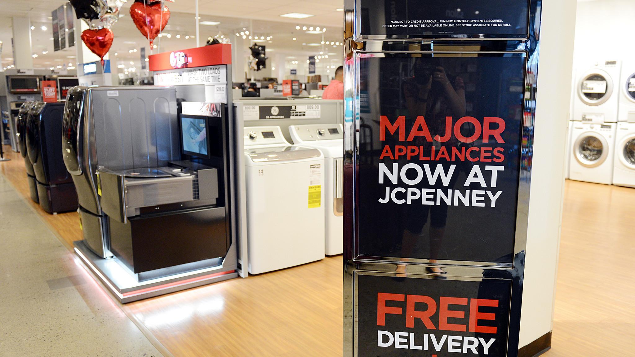 Jcpenney In Abingdon Adds Major Appliance Showroom