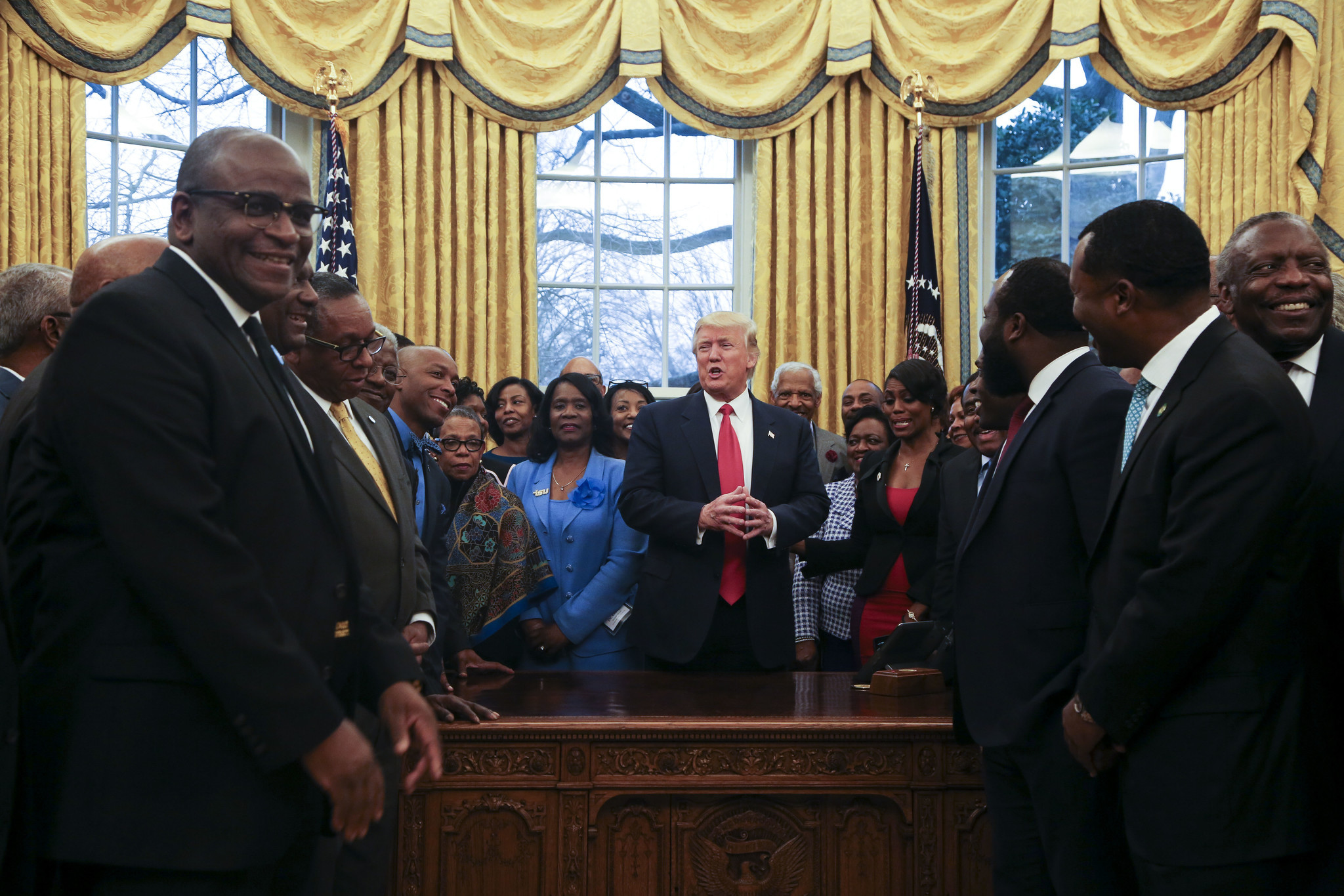 Trump questions whether key funding source for historically black colleges is constitutional
