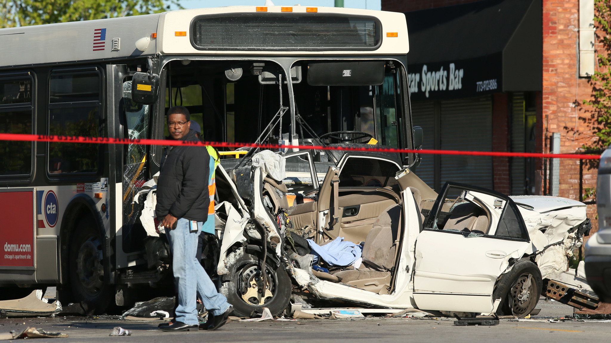 2 Of 4 People Killed Identified After CTA Bus, Car Collide