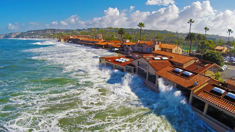 The Marine Room restaurant at La Jolla Shores,