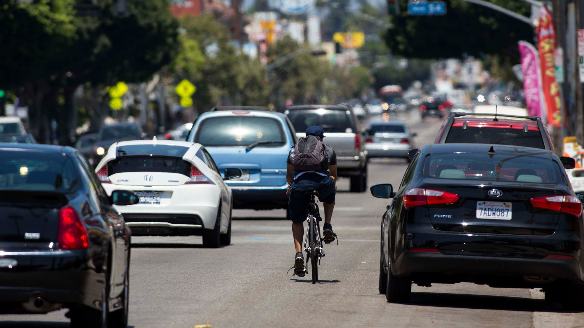 The fight over whether to create bike lanes on Figueroa Street in Highland Park has been a divisive issue in council District 1.