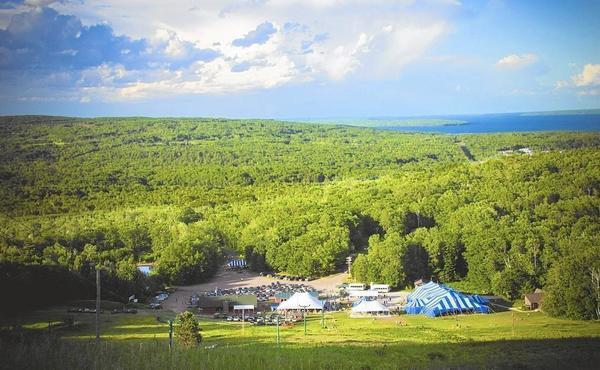 Tiny Bayfield Wis Strikes Improbable Gold With Big Top