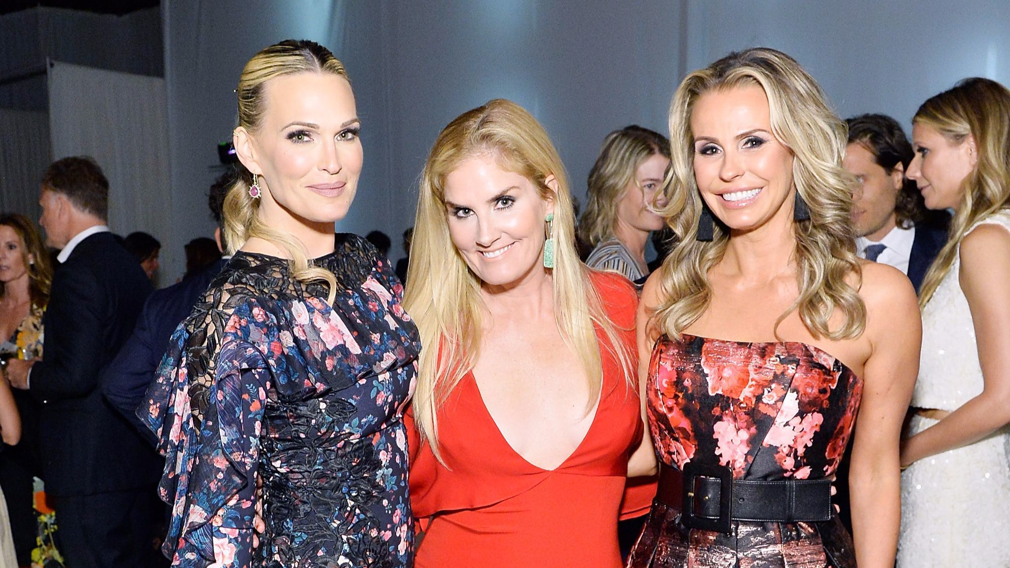 From left, Molly Sims, Mary Alice Haney and co-chair Natasha Croxall.