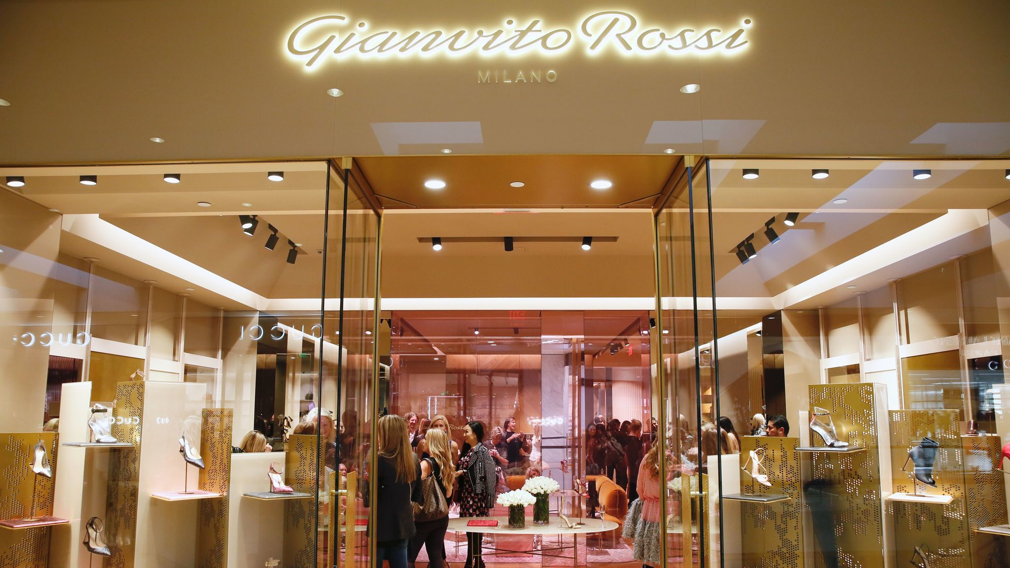 The Gianvito Rossi boutique that opened at South Coast Plaza in April is the luxury footwear label's third U.S. store -- and first on the West Coast.