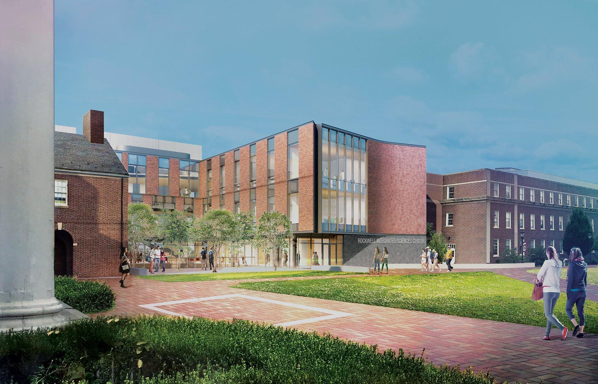 Lafayette College Kicks Off Construction Of New  100 000