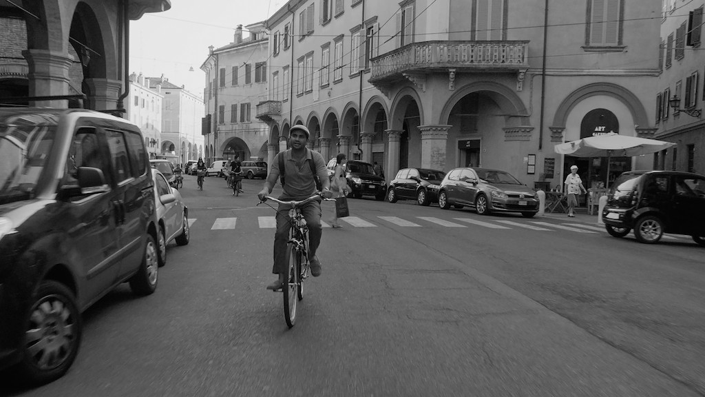 "Aziz Ansari in the Season 2 premiere of ""Master of None,"" which is set in Italy."