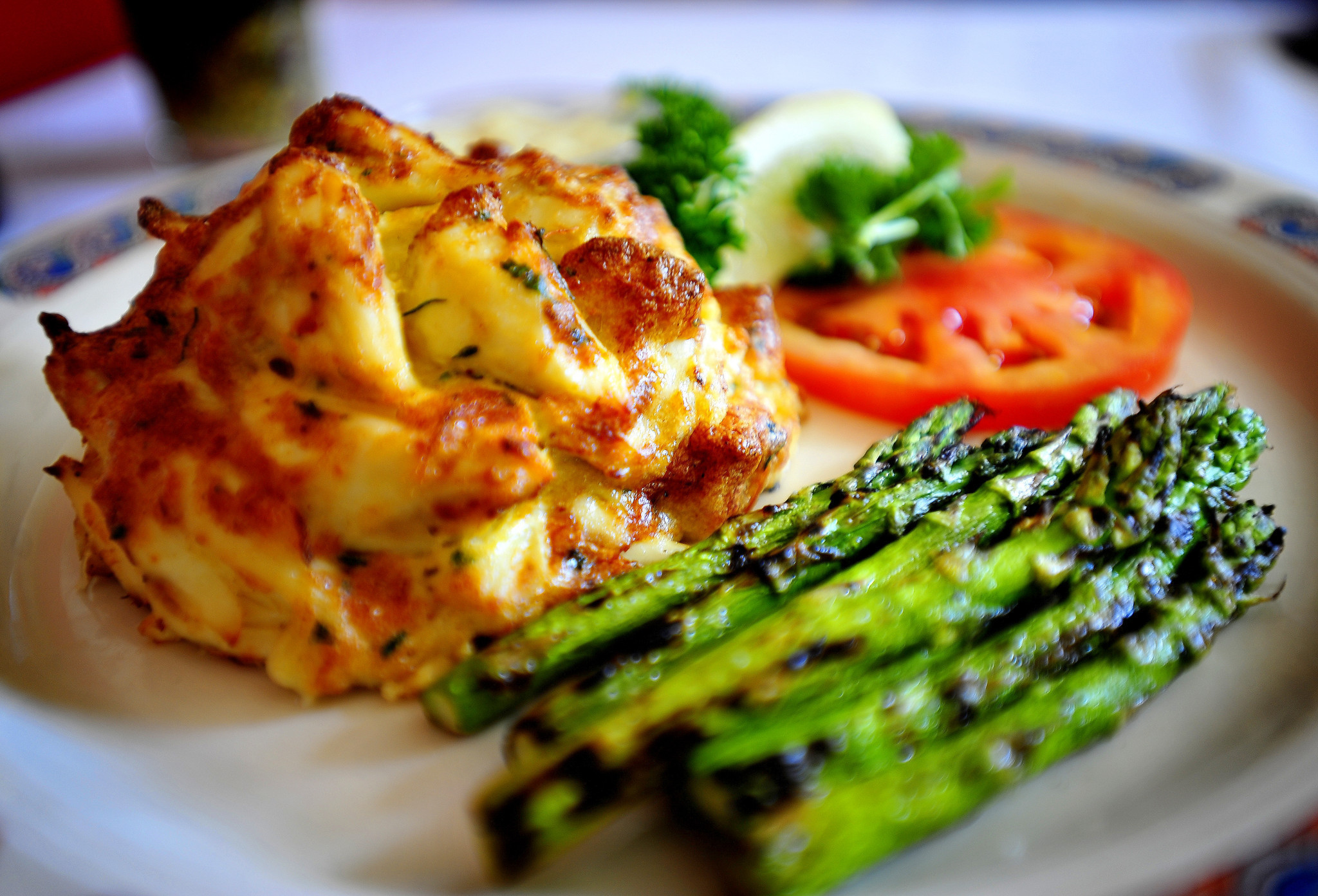 Baltimore Broiled Crab Cake Recipe