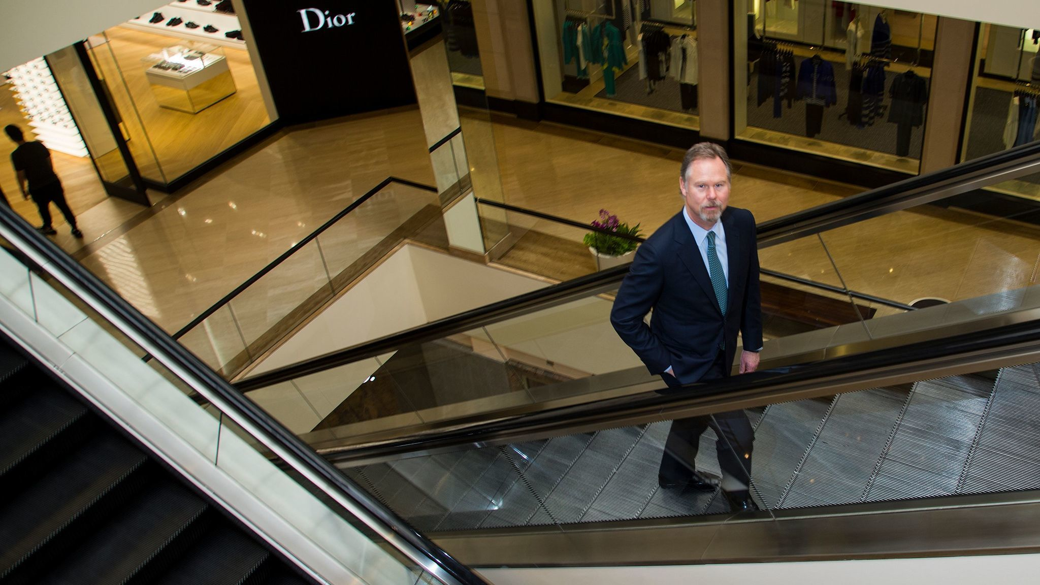 """South Coast Plaza executive and partner Anton Segerstrom says the opening of the André Courrèges boutique in 1975 was a """"great leap forward"""" for the center."""