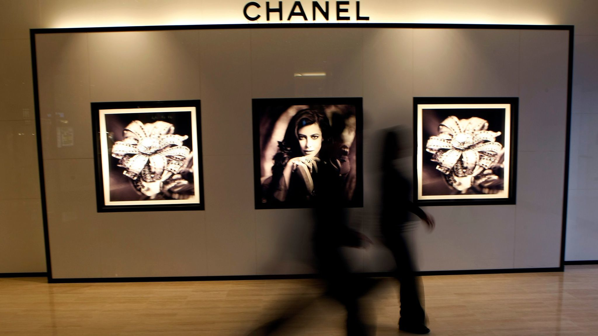 A 2011 file photo of the Chanel boutique at Costa Mesa's South Coast Plaza. When it opened in 1990 it was just the second-ever mall location for the French luxury label.
