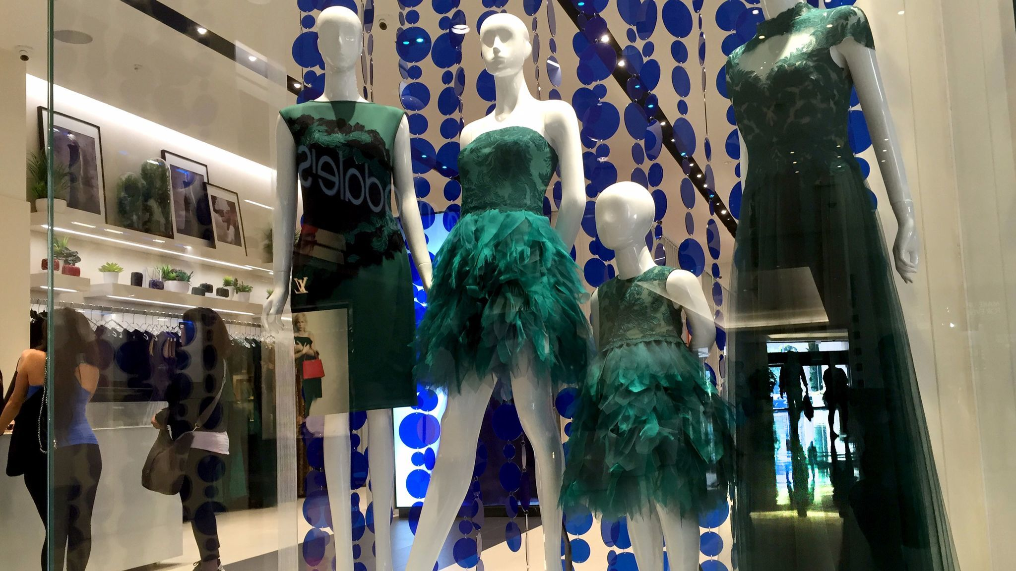 A 2015 file photo of the Tadashi Shoji at South Coast Plaza. The designer opened his first U.S. boutique here in 2004.