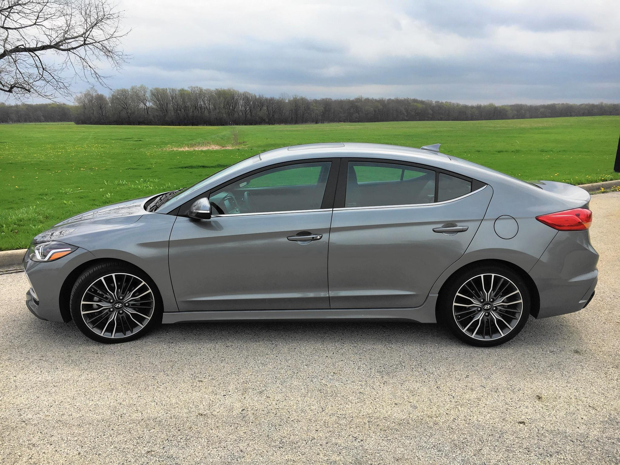 Review Hyundai Elantra Sport Holds Its Own Against Honda