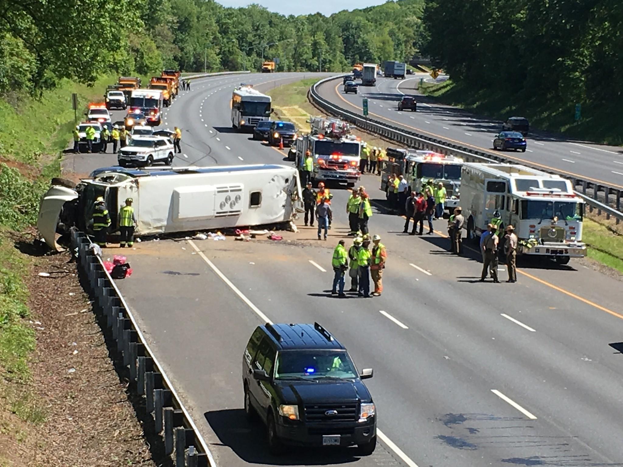Bus crash on I-95 - The Aegis