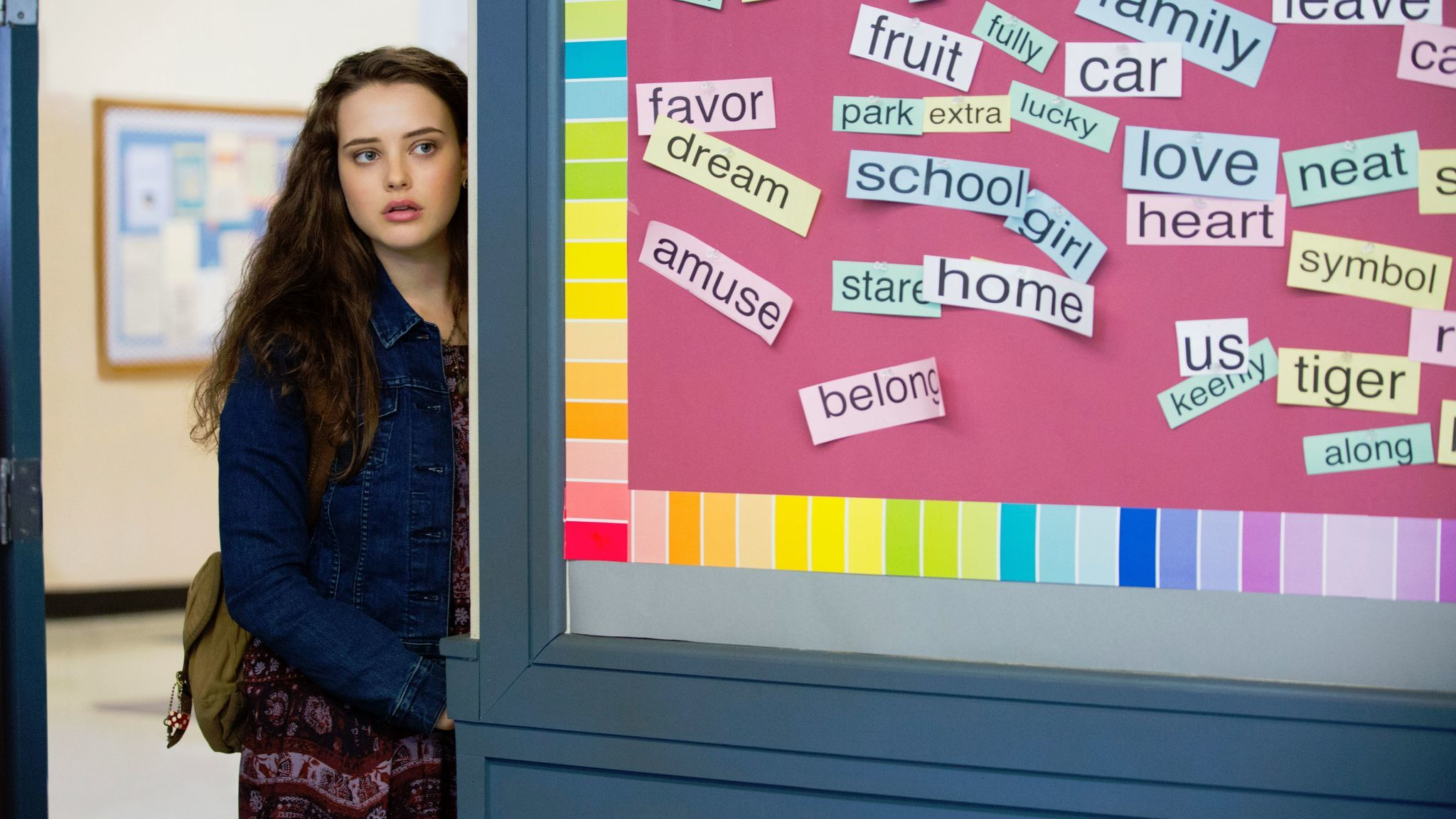 """Katherine Langford in """"13 Reasons Why,"""""""