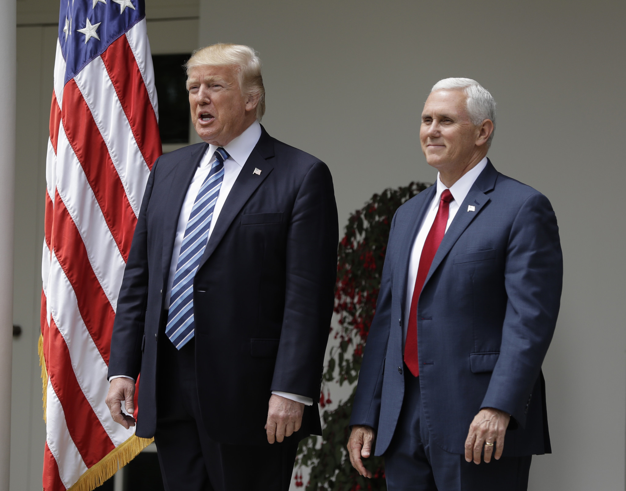 what is vice president mike pence thinking chicago tribune