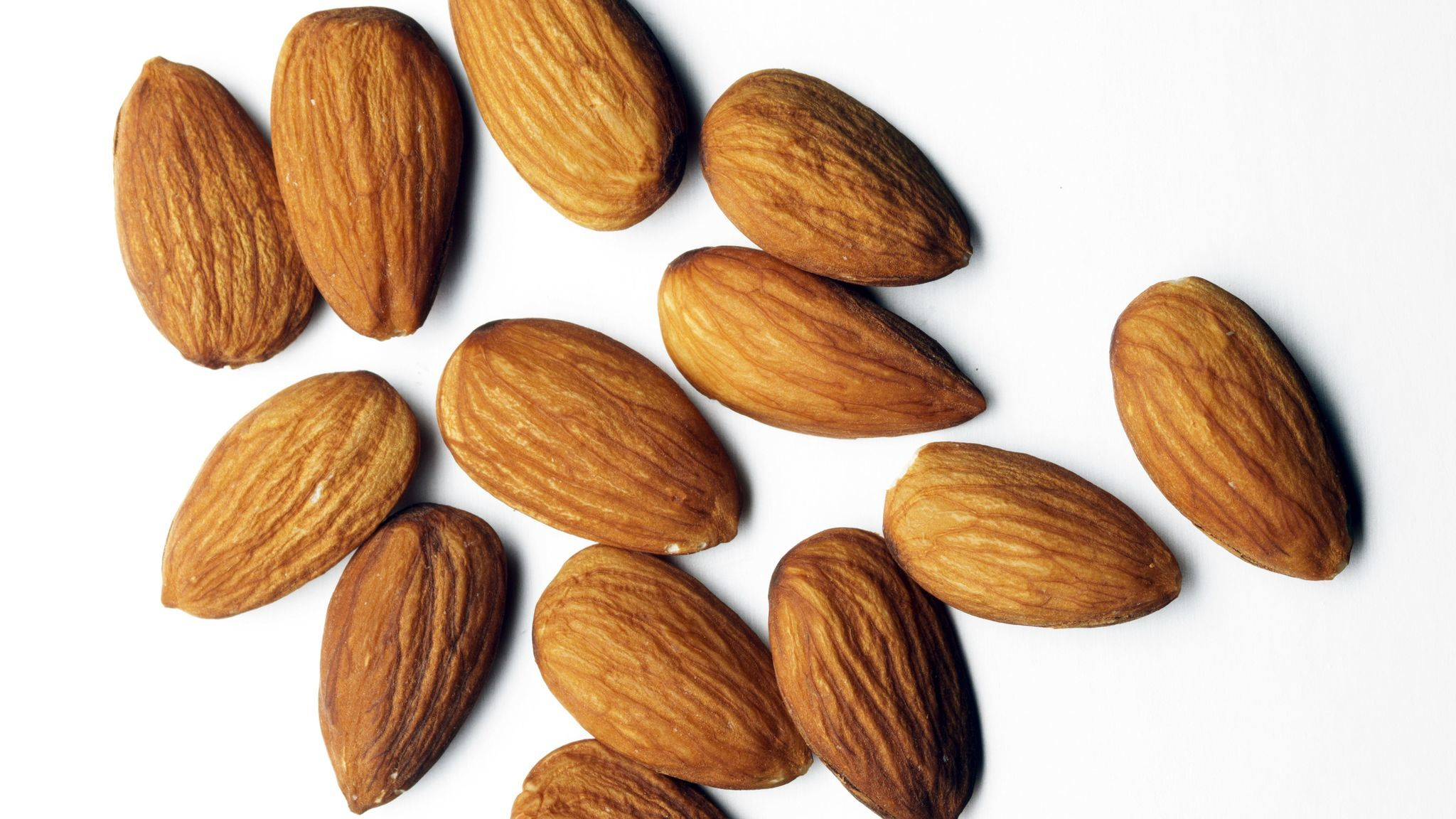 Almonds are a good source of vitamin E.