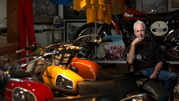 Tom White held an annual Burgers & Bikes charity event, raising money for the hospital that saved his son's life, and showing off his massive motorcycle collection. Then, a cancer diagnosis cancelled this year's June 4 gathering. But he insists it will go on.
