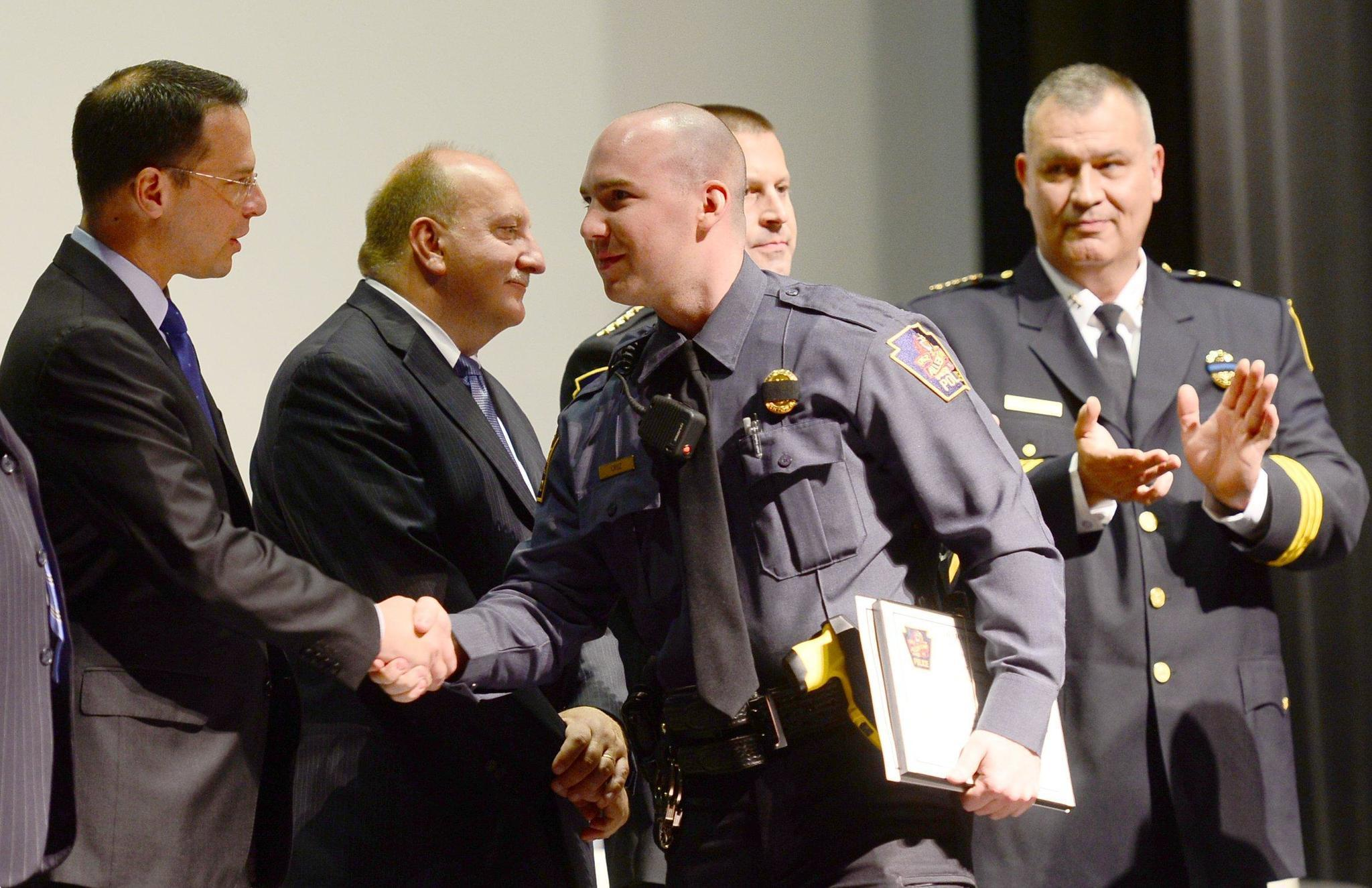 Dozens of officers honored for bravery, heroism during ...