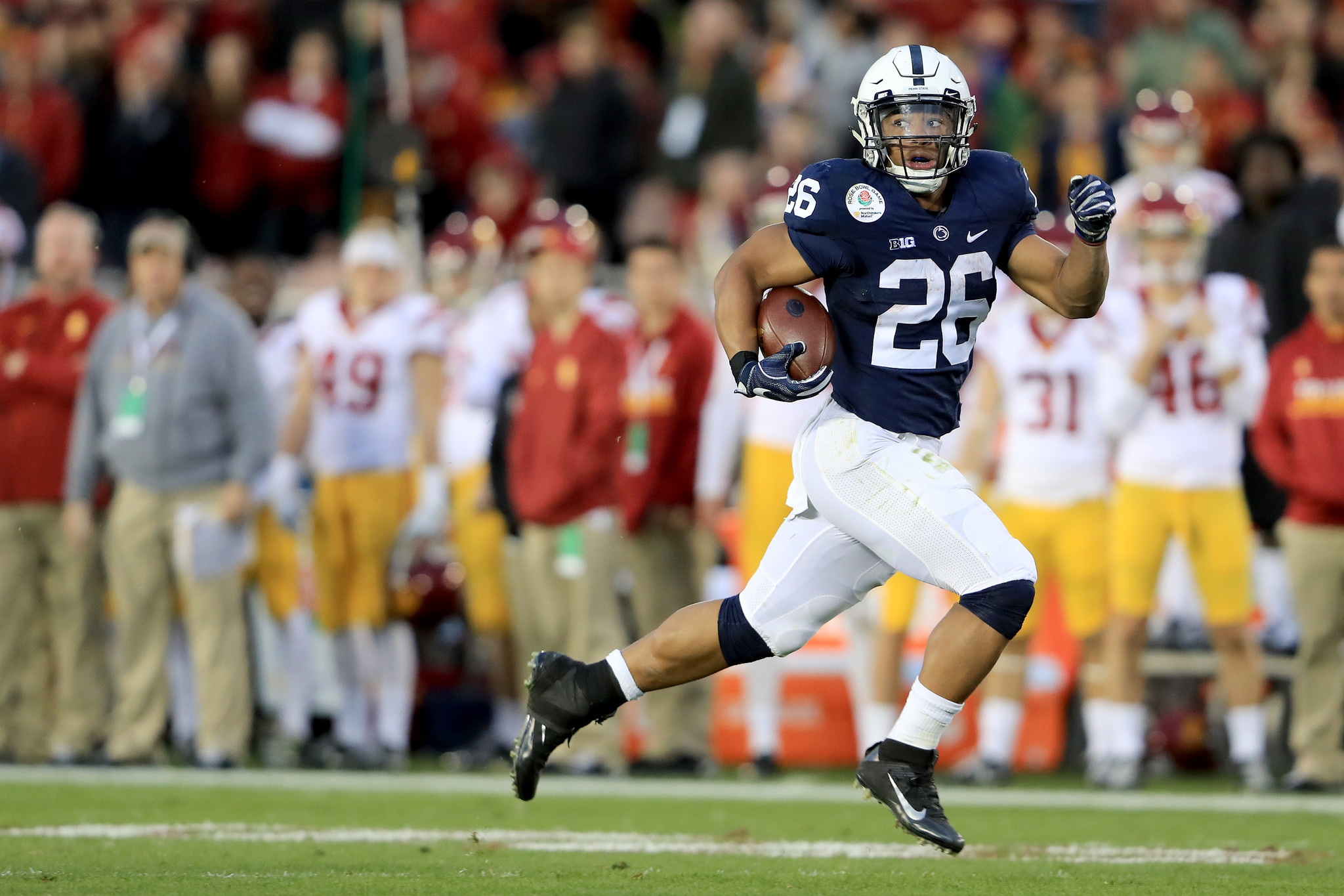 Saquon Barkley: Best NFL running back prospect in a decade ...