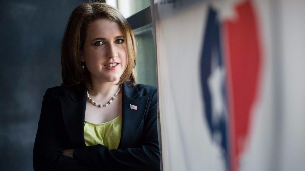 Angelyn Dionysatos is president of the Atlanta Young Republicans.