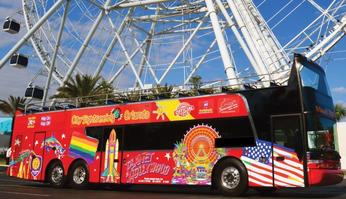 Double Decker Open Top Buses Will Do Orlando Sightseeing Tours