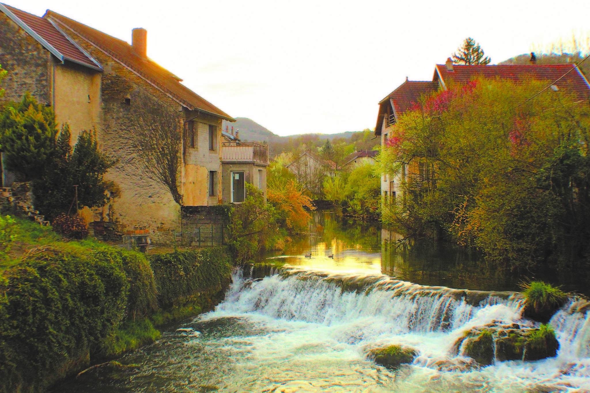 Arbois France Celebrated For Wine Cheese Pasteur The