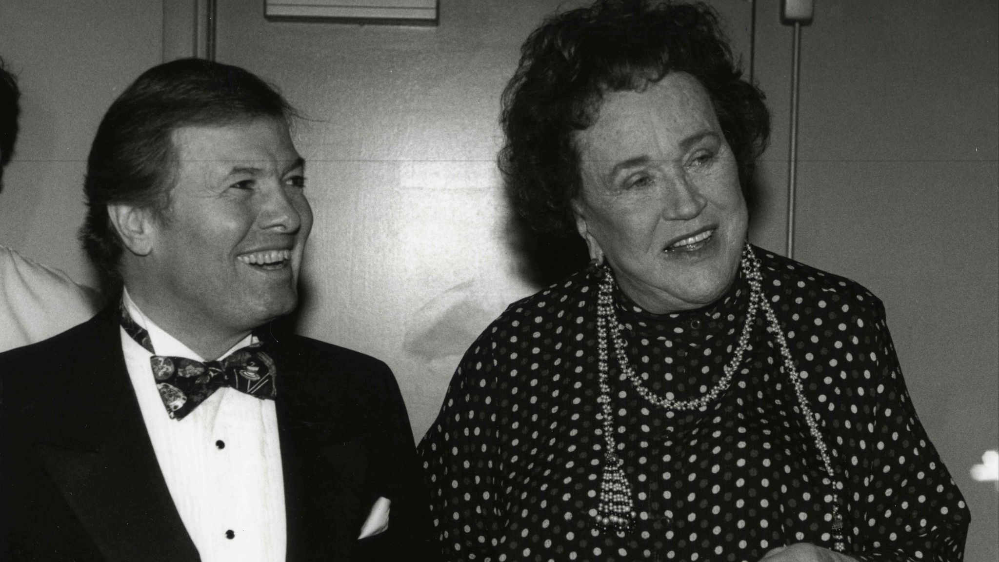 Jacques Pépin and Julia Child.