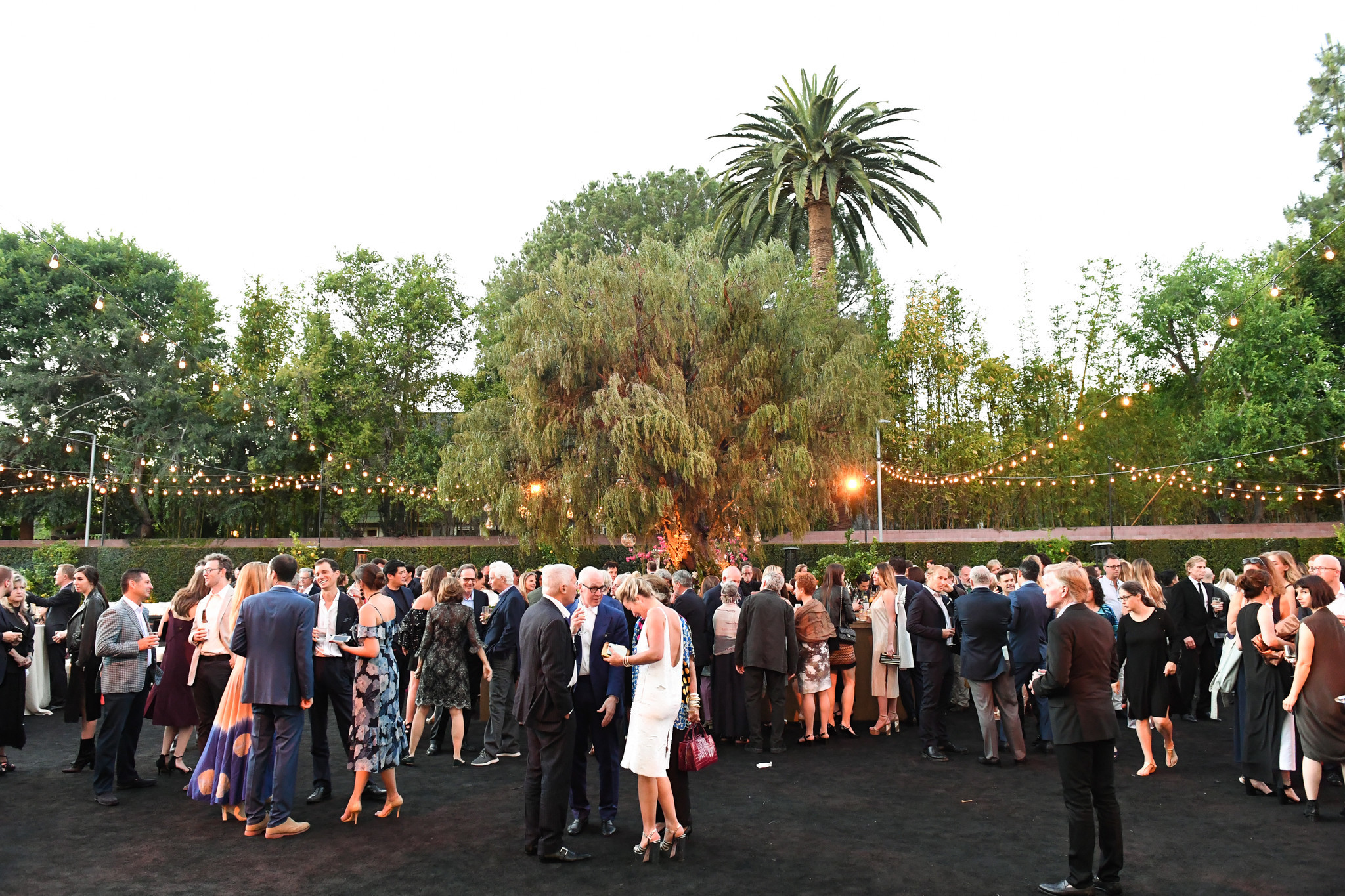 The Marciano Art Foundation's opening party on Saturday.