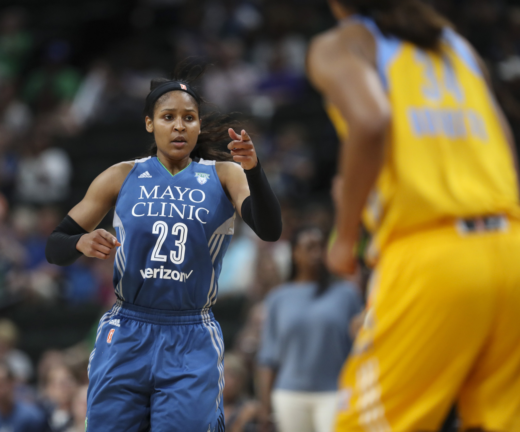 Sun Face Maya Moore-Led Lynx, Who Have History Of Starting ...