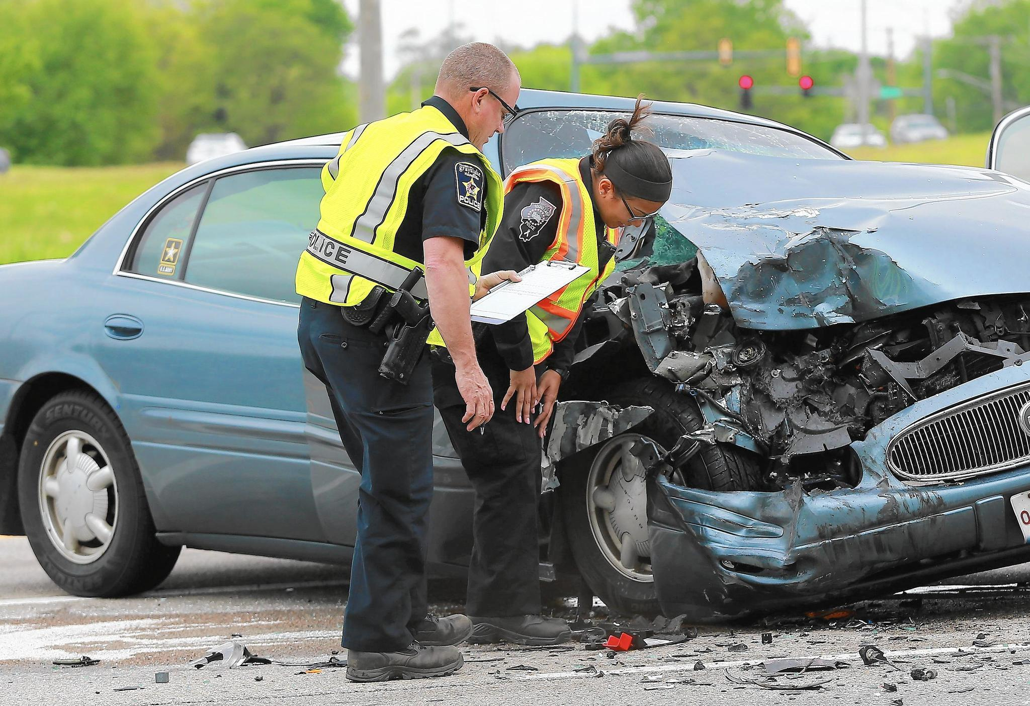 Fox Lake Police  Motorist Dies After Car Hits Stopped Semi