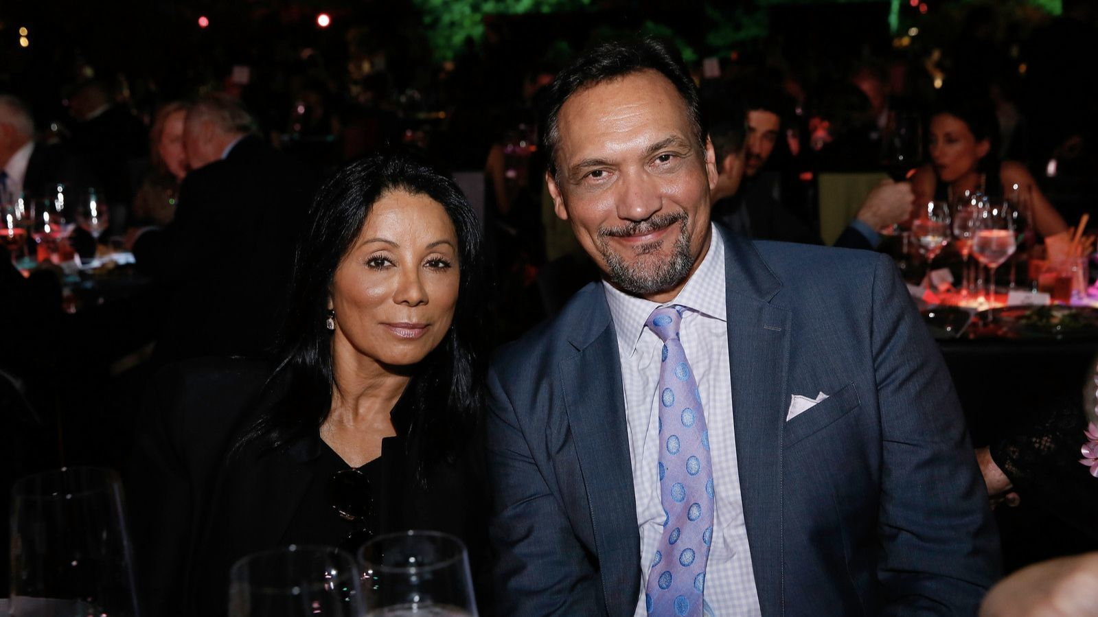 Wanda De Jesus and Jimmy Smits attend the Center Theatre Group''s anniversary festivities, which included a one-night-only performance at the Ahmanson Theatre as well as a dinner in Grand Park.