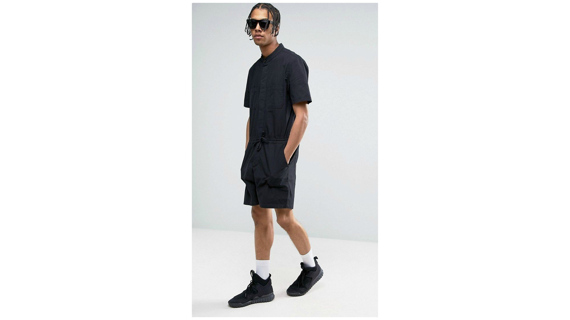 dfbdde63df0d ASOS slim short jumpsuit.