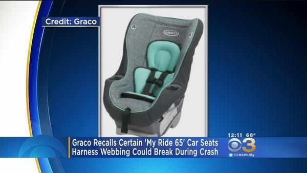 More Than 25,000 Graco Child Seats Recalled Because