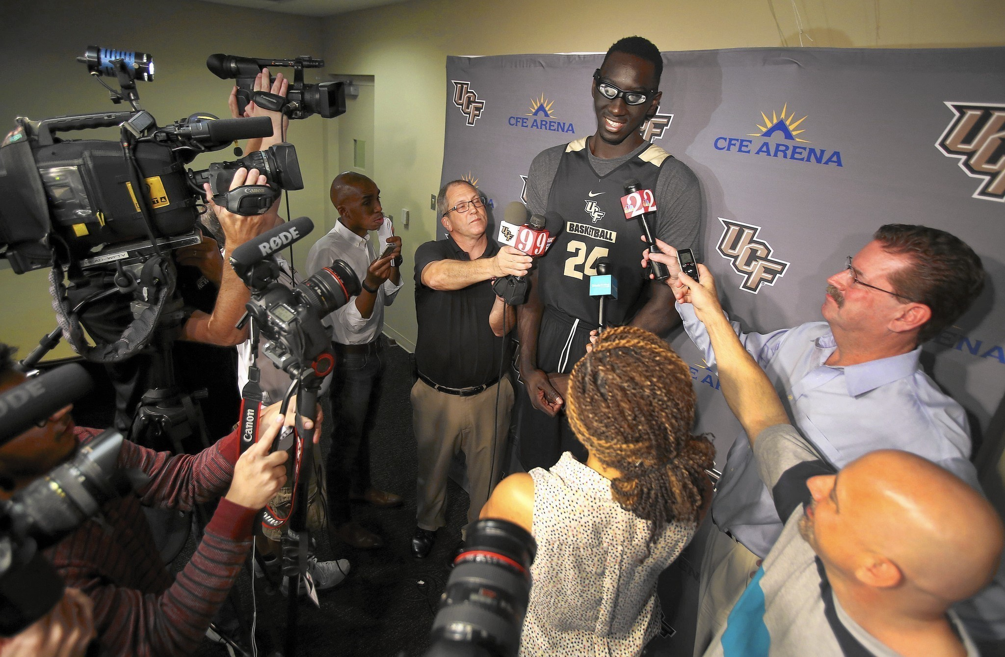 Tacko Fall more confident, focused on UCF basketball after ...