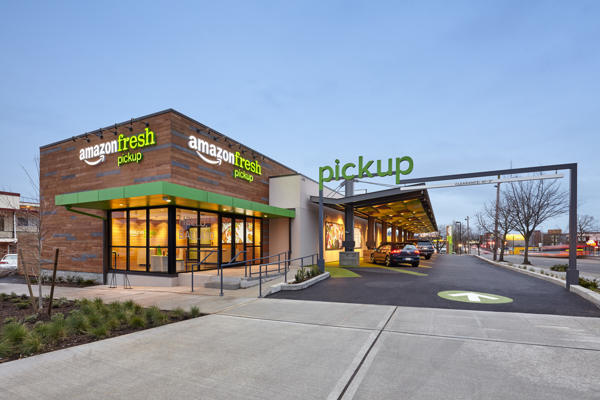 Amazonfresh Pickup Opens In Seattle Is San Diego Next The San