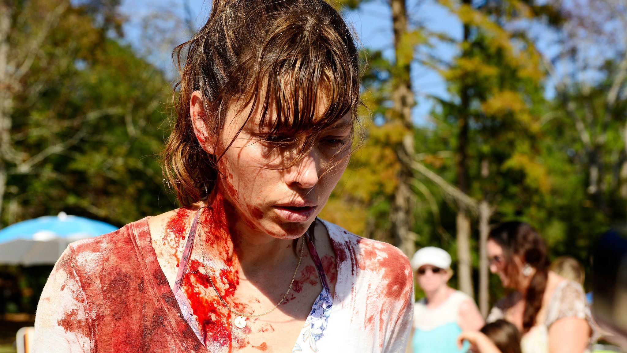 """Jessica Biel as Cora in USA Network's """"The Sinner."""""""