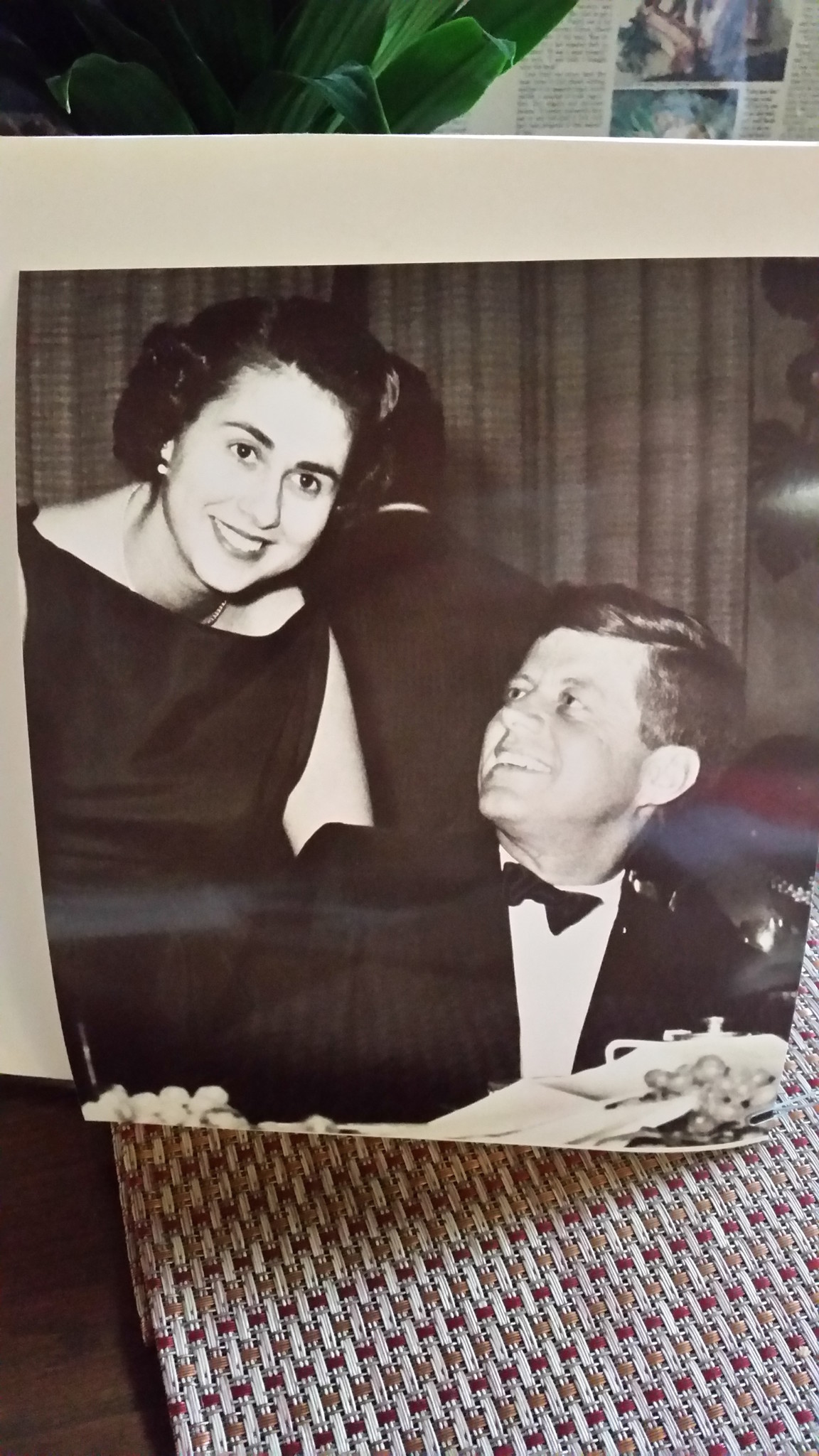 Roz Wyman and John F. Kennedy